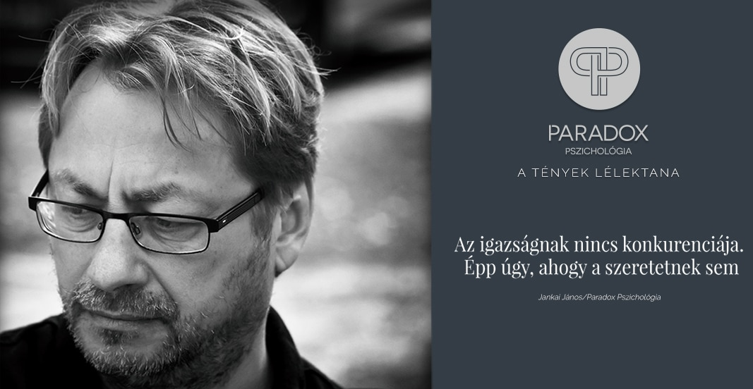 jankai János paradox-pszichológia